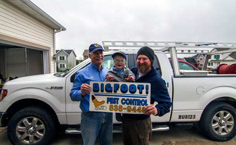 Bigfoot Pest Control family.